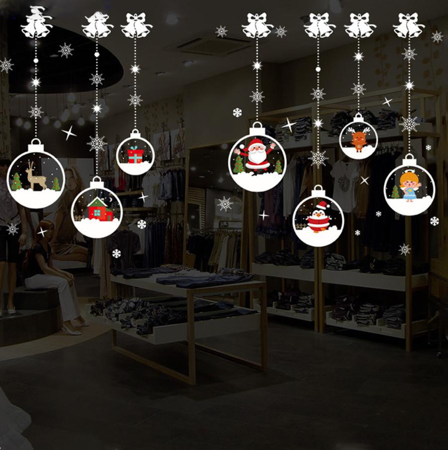 Dây treo quả cầu tuyết đêm Noel