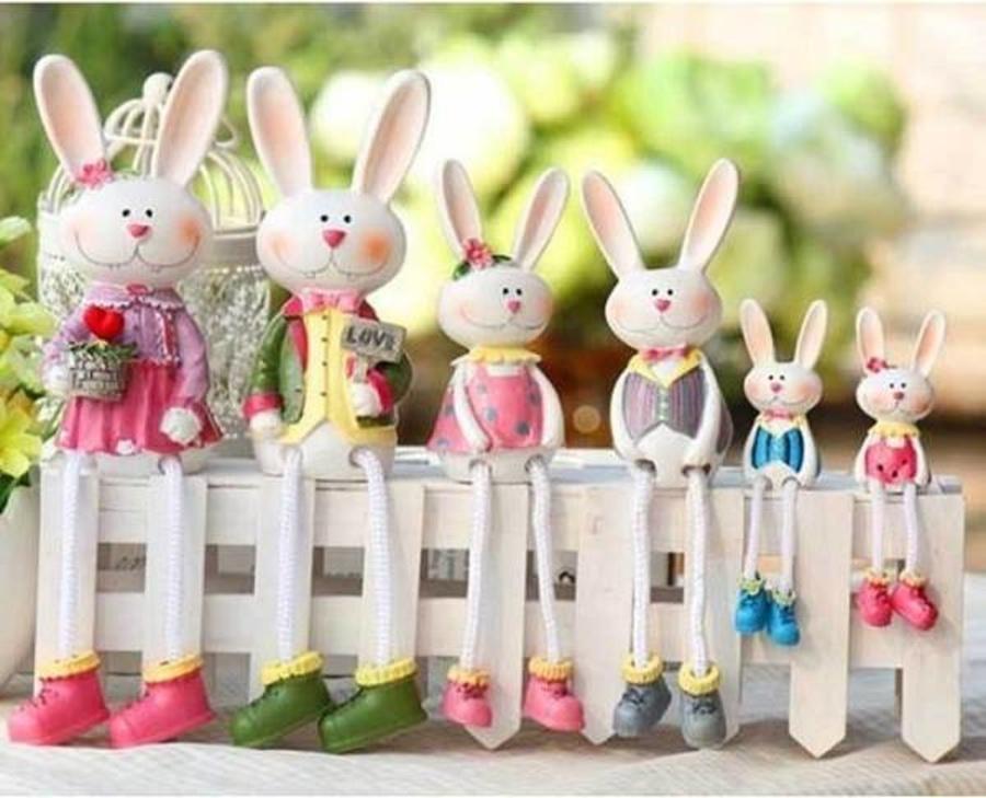 Búp bê thỏ (1 cặp nhỏ)