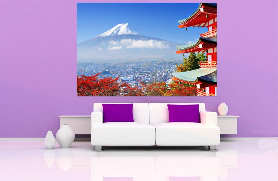 Tranh treo tường núi Phú Sĩ