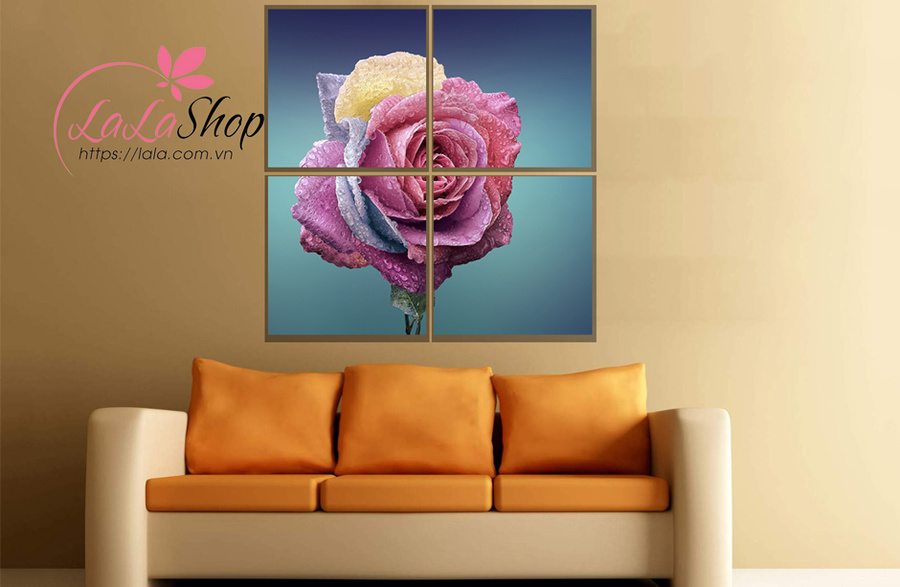 Tranh treo tường hoa hồng