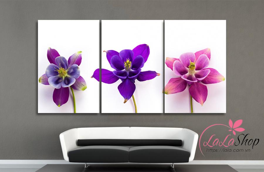 Tranh treo tường ba hoa lan