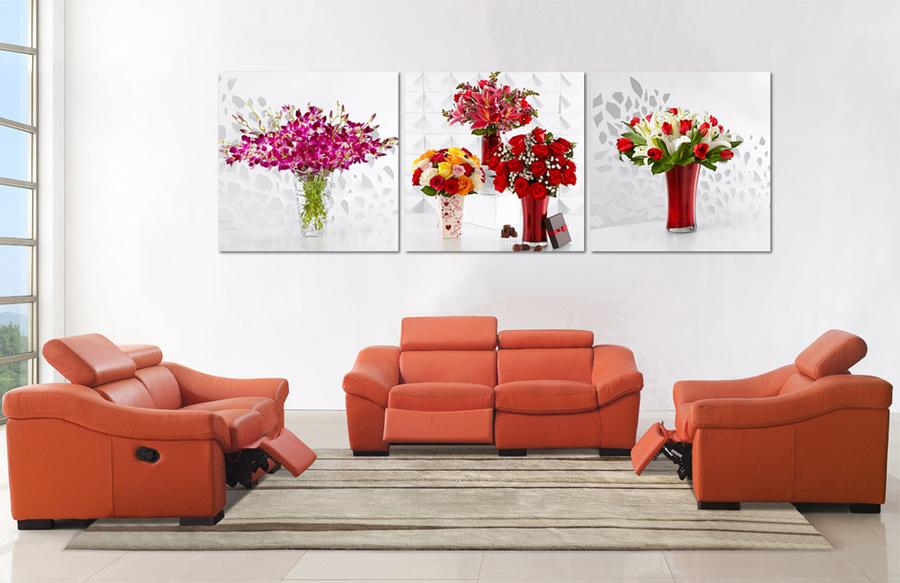 Tranh treo tường bình hoa
