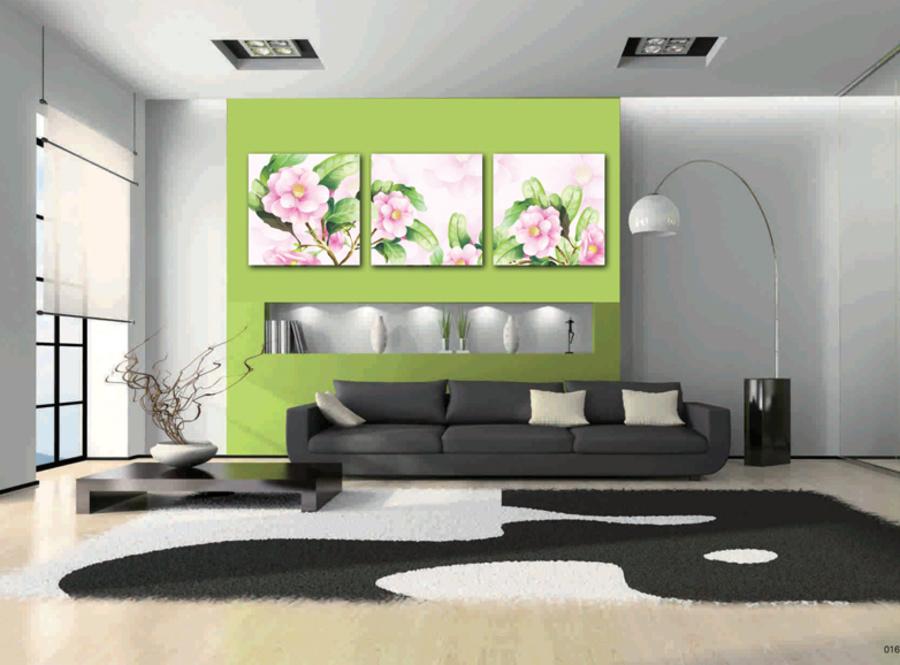 Tranh treo tường hoa cánh hồng nghệ thuật