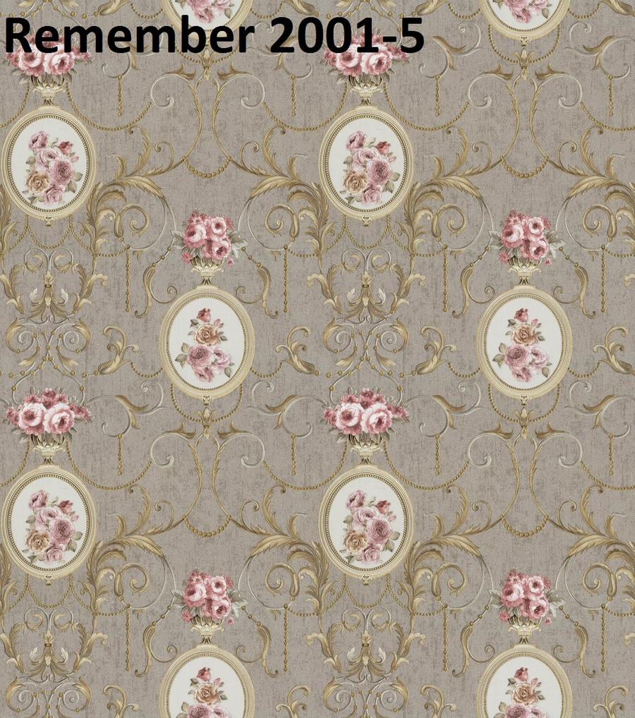 Giấy dán tường hoa hồng RE2001-5