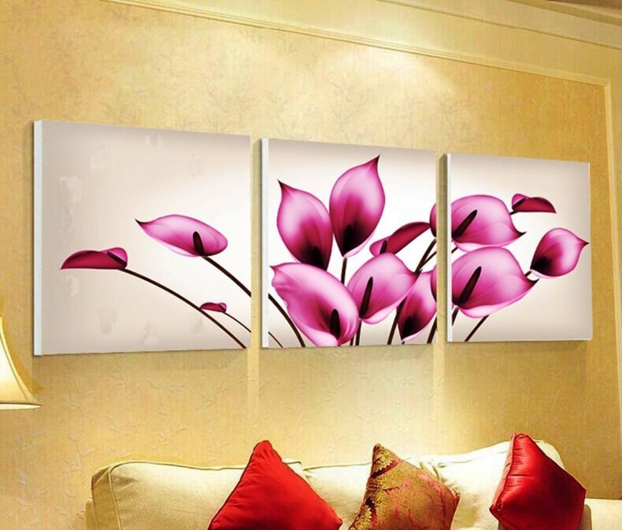 Tranh treo tường hoa môn nghệ thuật