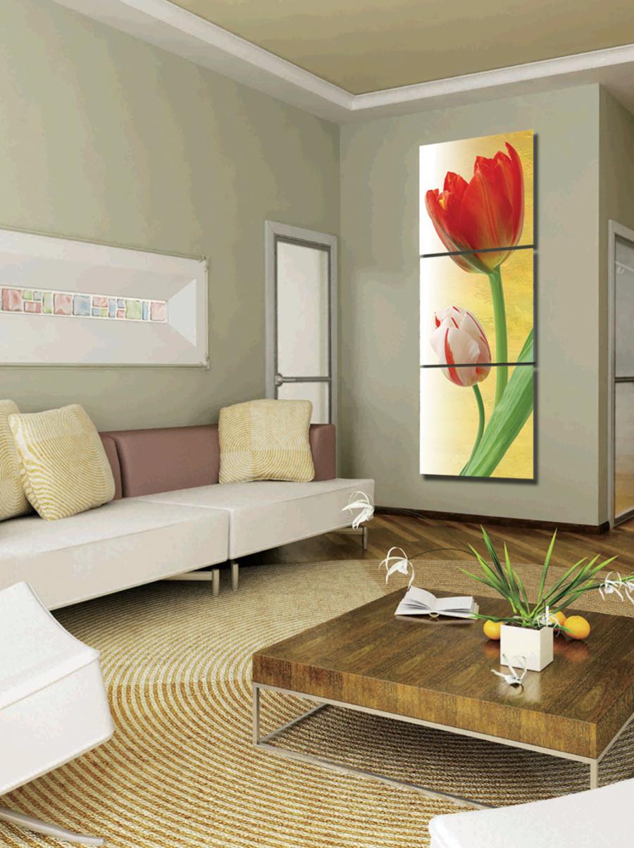 Tranh treo tường hoa tulip 3