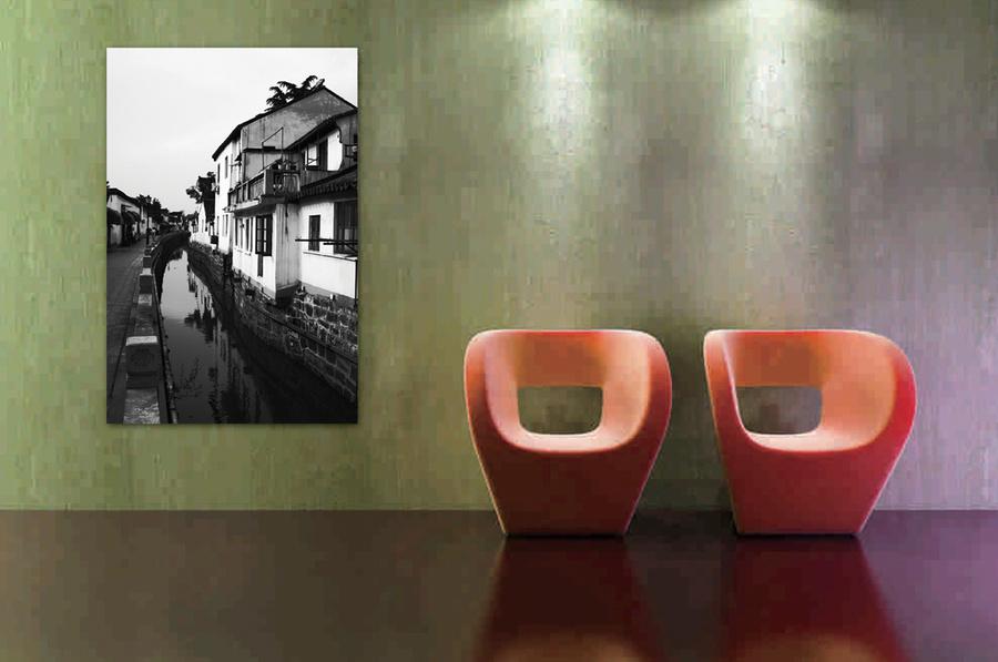 Tranh treo tường ngôi nhà cổ