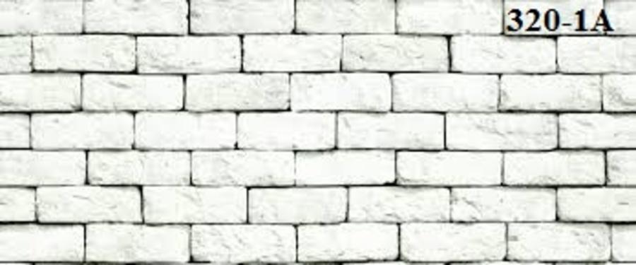 Giấy dán tường giả gạch trắng SE 320-1A