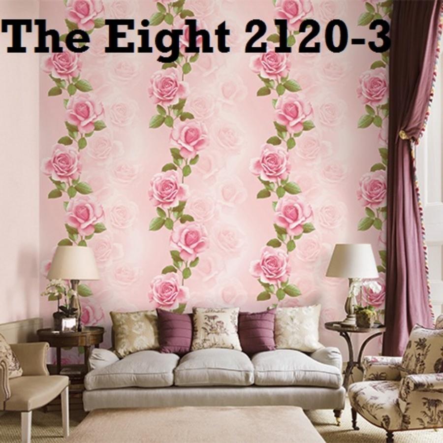 Giấy dán tường hoa hồng TE 2120-3