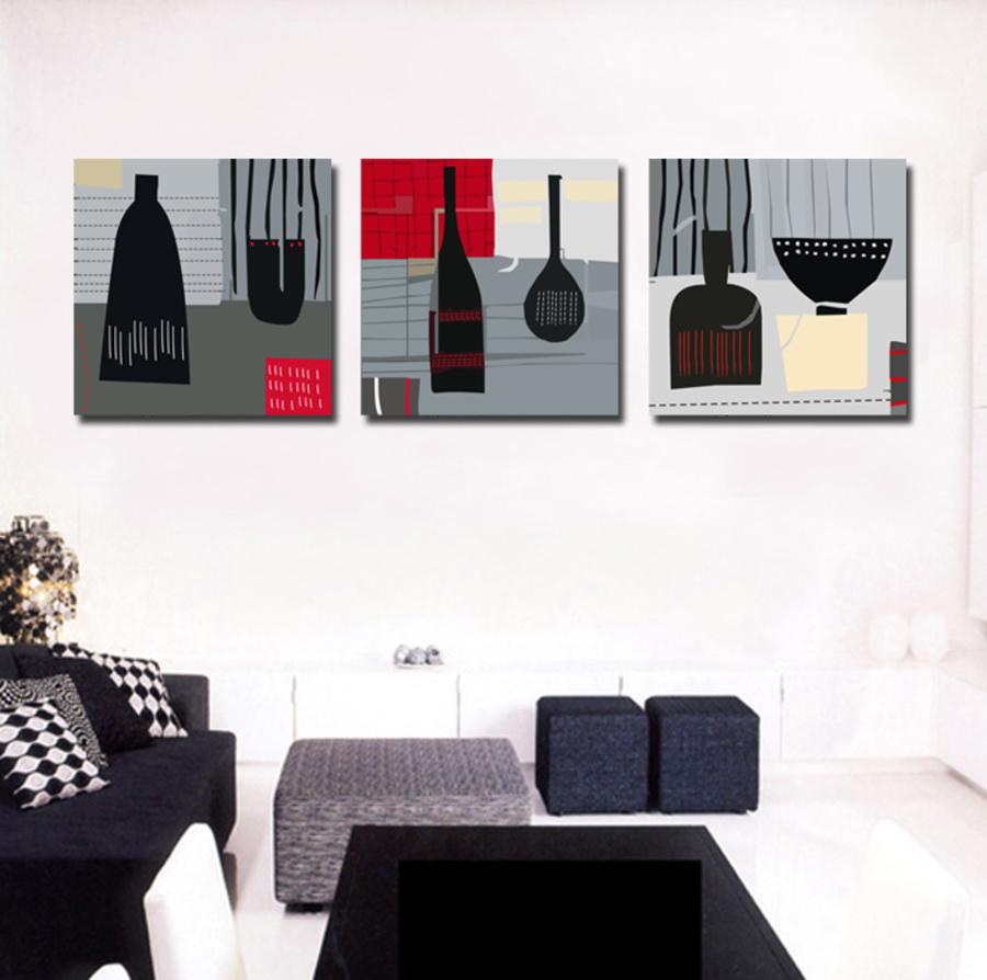 Tranh treo tường các bình hoa nghệ thuật