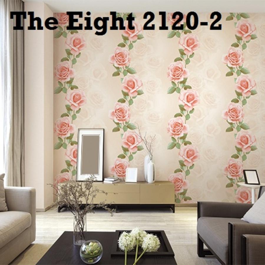 Giấy dán tường hoa hồng TE 2120-2