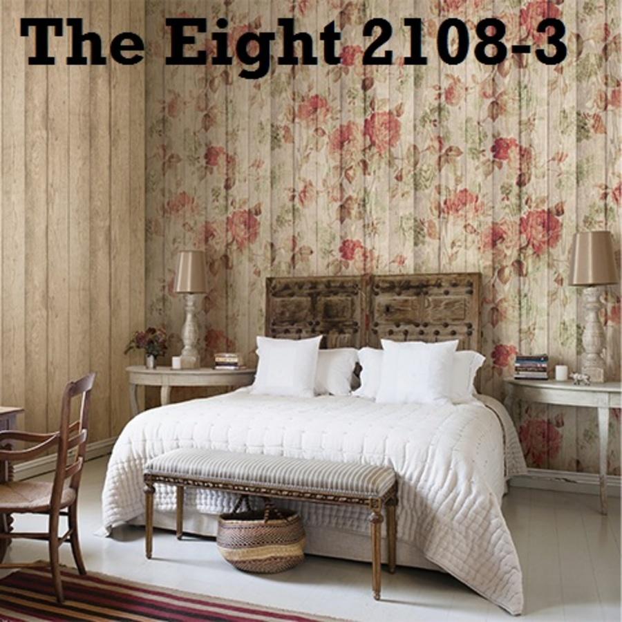 Giấy dán tường hoa hồng TE 2108-3