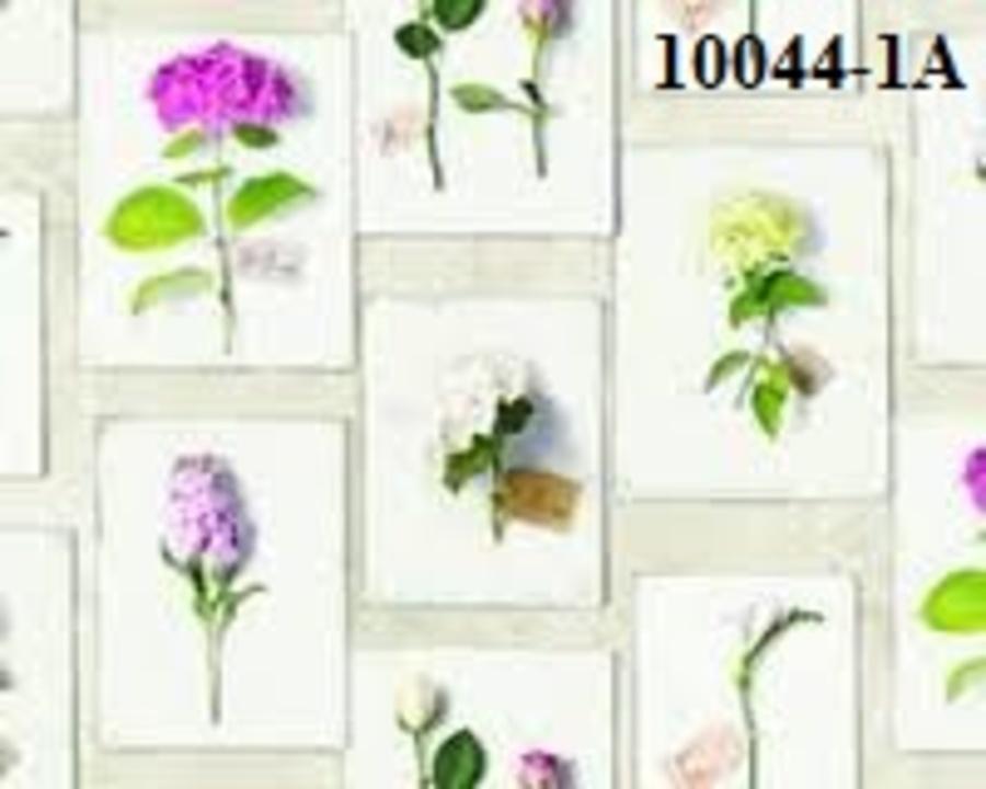 Giấy dán tường hoa tú cầu tím SE 10044-1A