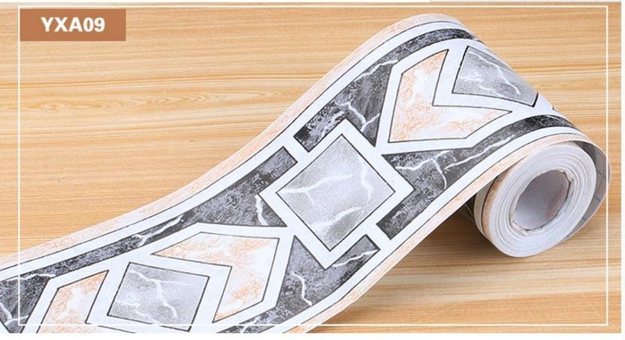 Decal cuộn len chân tường YXA09