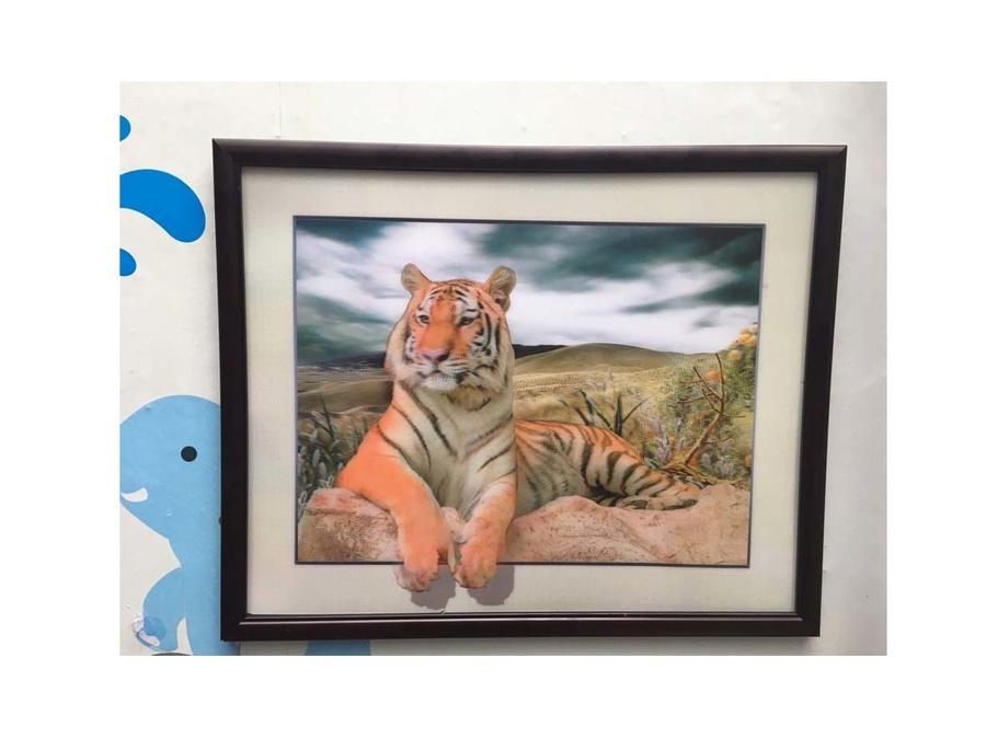 Tranh treo tường 4D con hổ