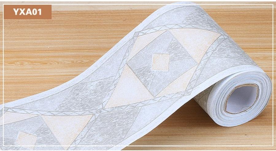 Decal cuộn len chân tường YXA01