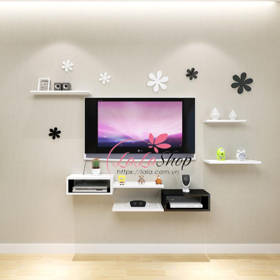 Kệ tivi treo tường TVD18