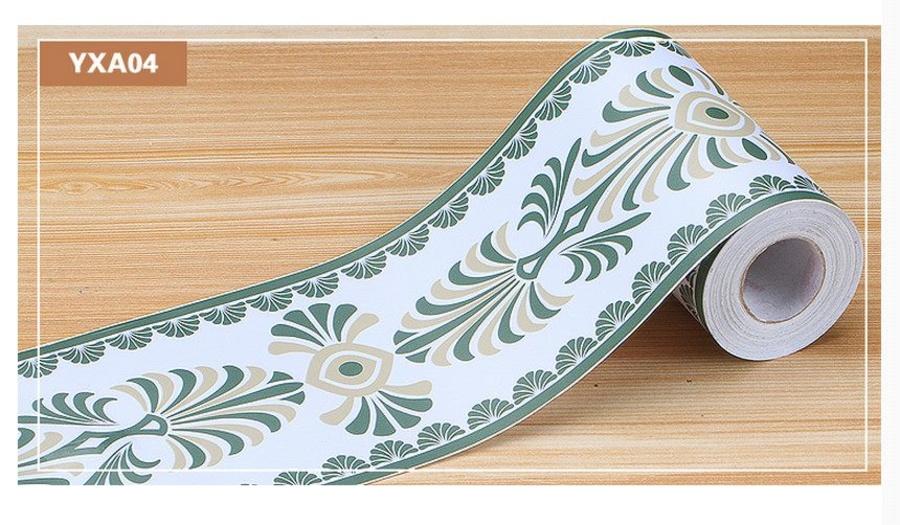 Decal cuộn len chân tường YXA04