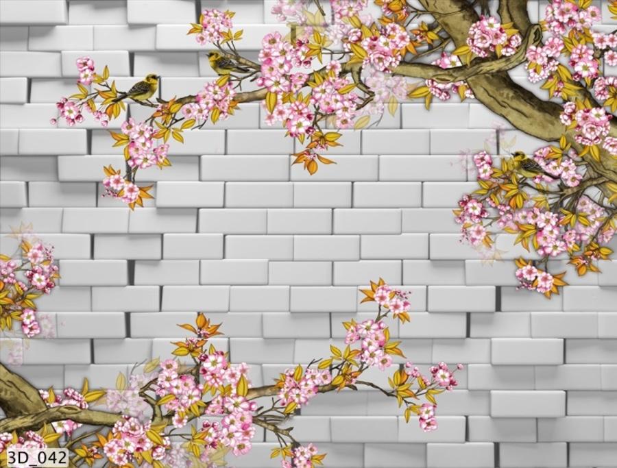 Tranh dán tường 3D042