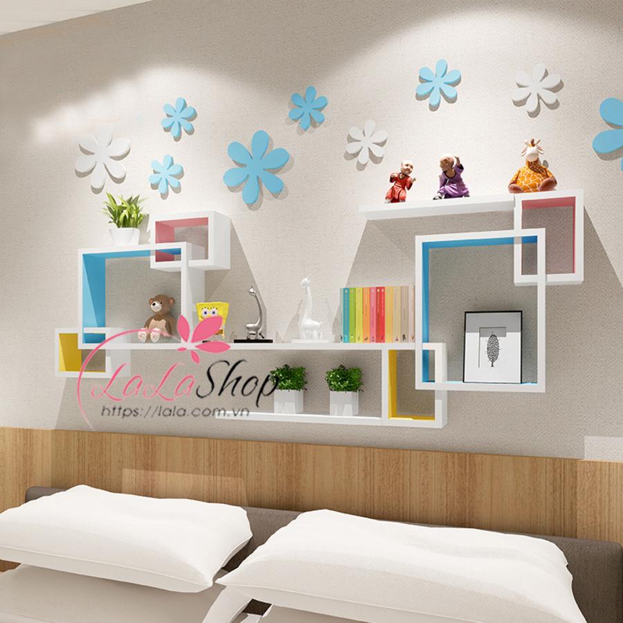 Kệ trang trí phòng ngủ TTPN23