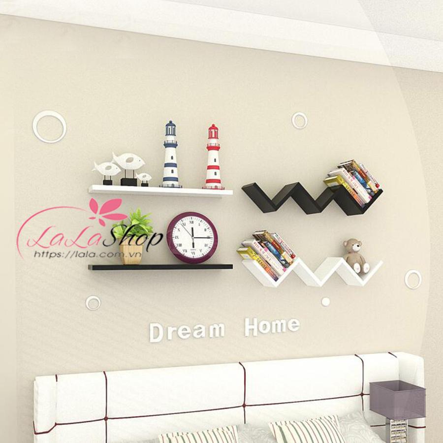 Kệ trang trí phòng ngủ TTPN07
