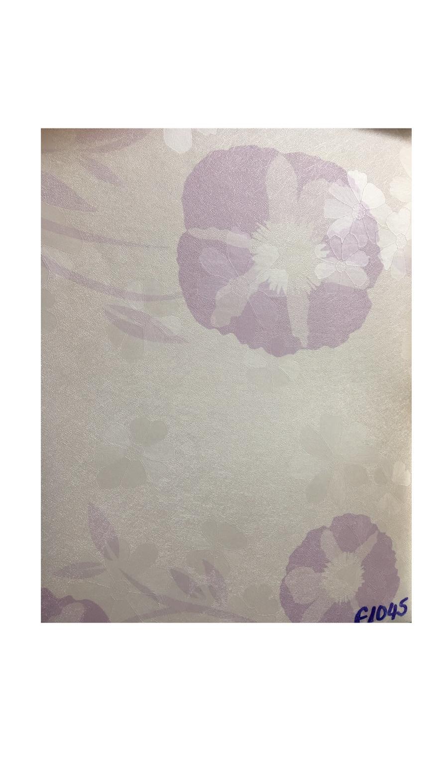 Giấy decal cuộn hoa tím khổ 1m2