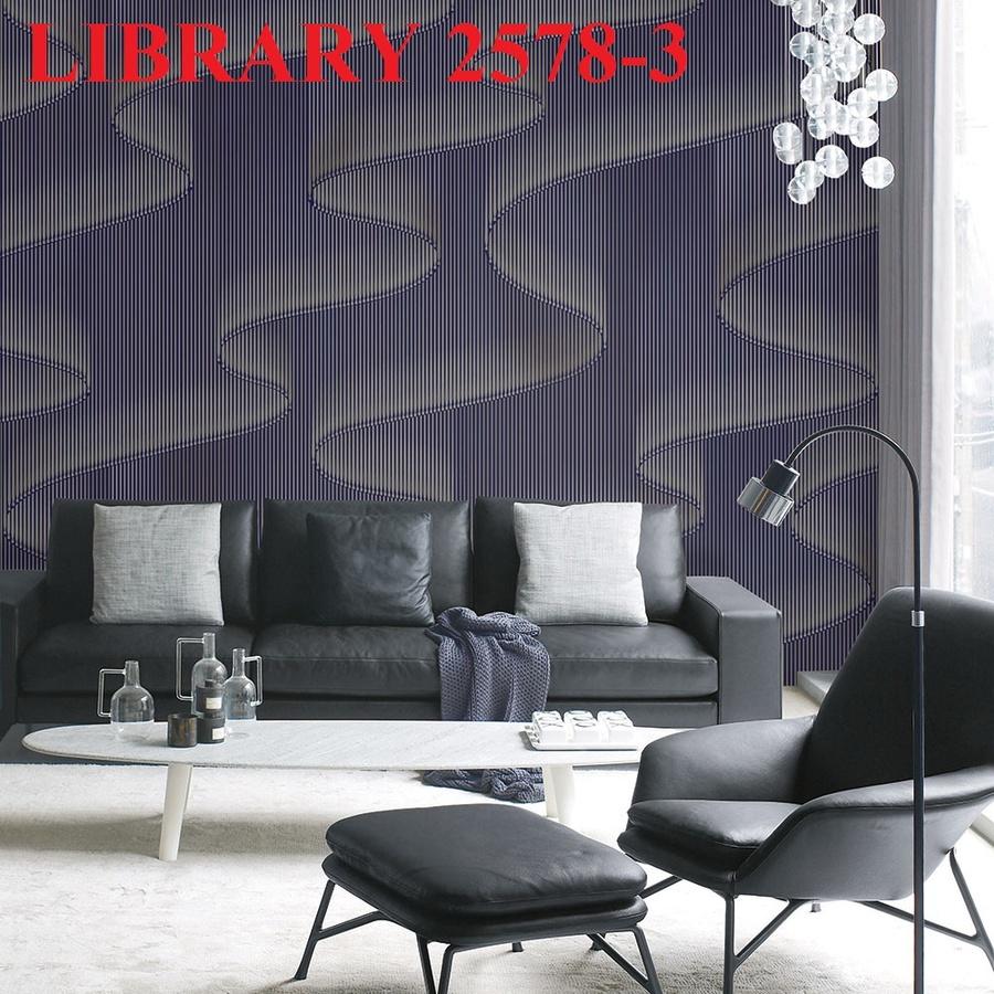 Giấy dán tường Library 2578-3