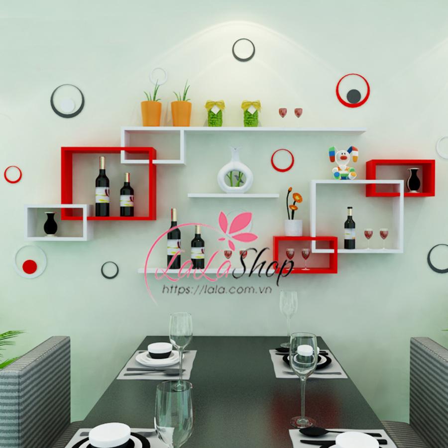 Kệ trang trí phòng ăn TTPA41