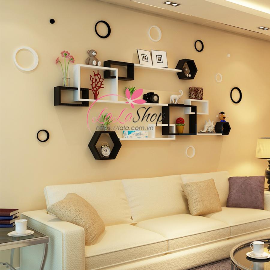 Kệ trang trí phòng khách TTPK10
