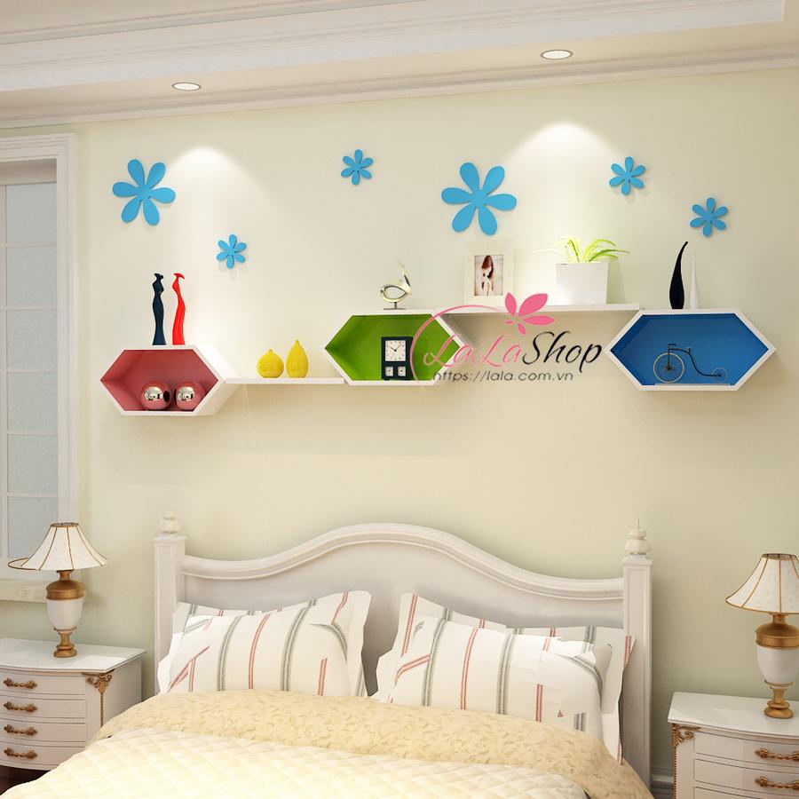 Kệ trang trí phòng ngủ TTPN10