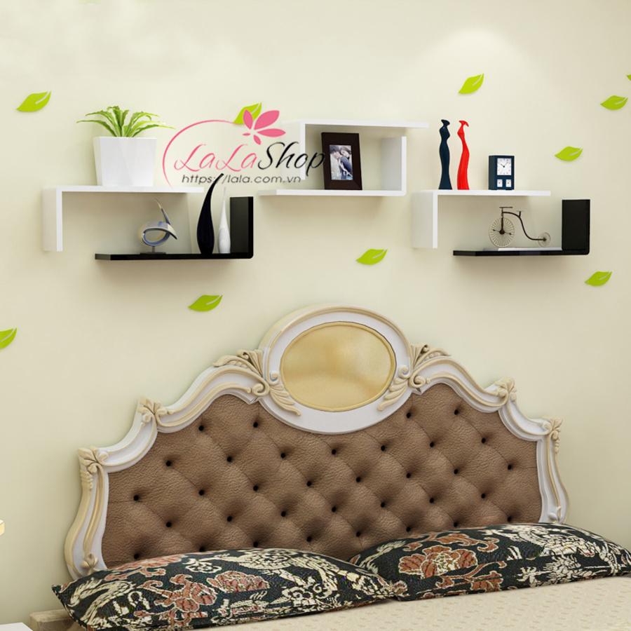Kệ trang trí phòng ngủ TTPN09