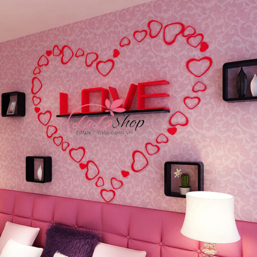 Kệ trang trí phòng ngủ TTPN17
