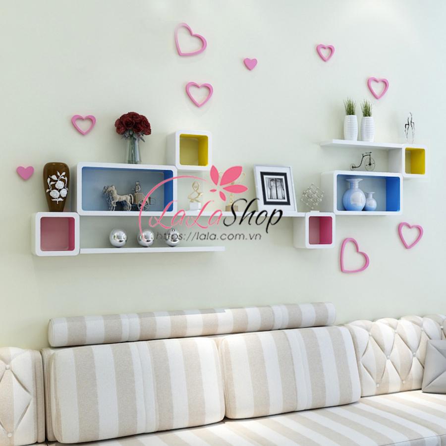 Kệ trang trí phòng khách TTPK01