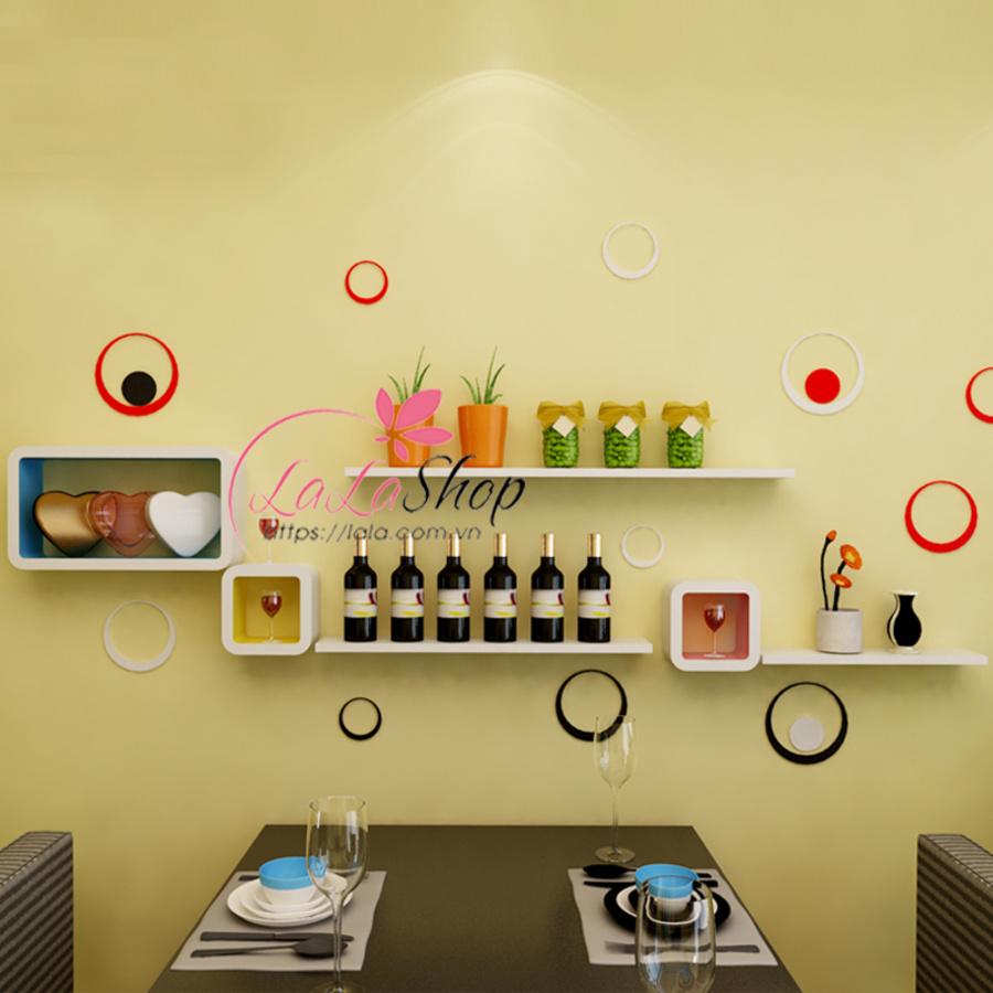 Kệ trang trí phòng ăn TTPA27