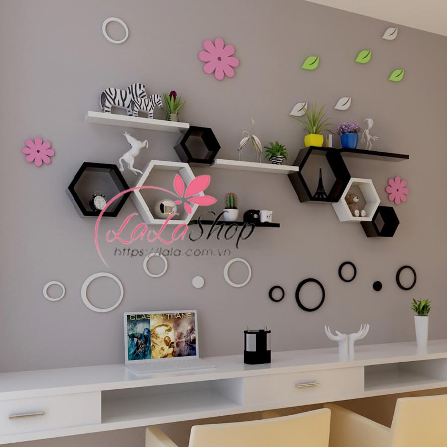 Kệ trang trí bàn làm việc TTLV22