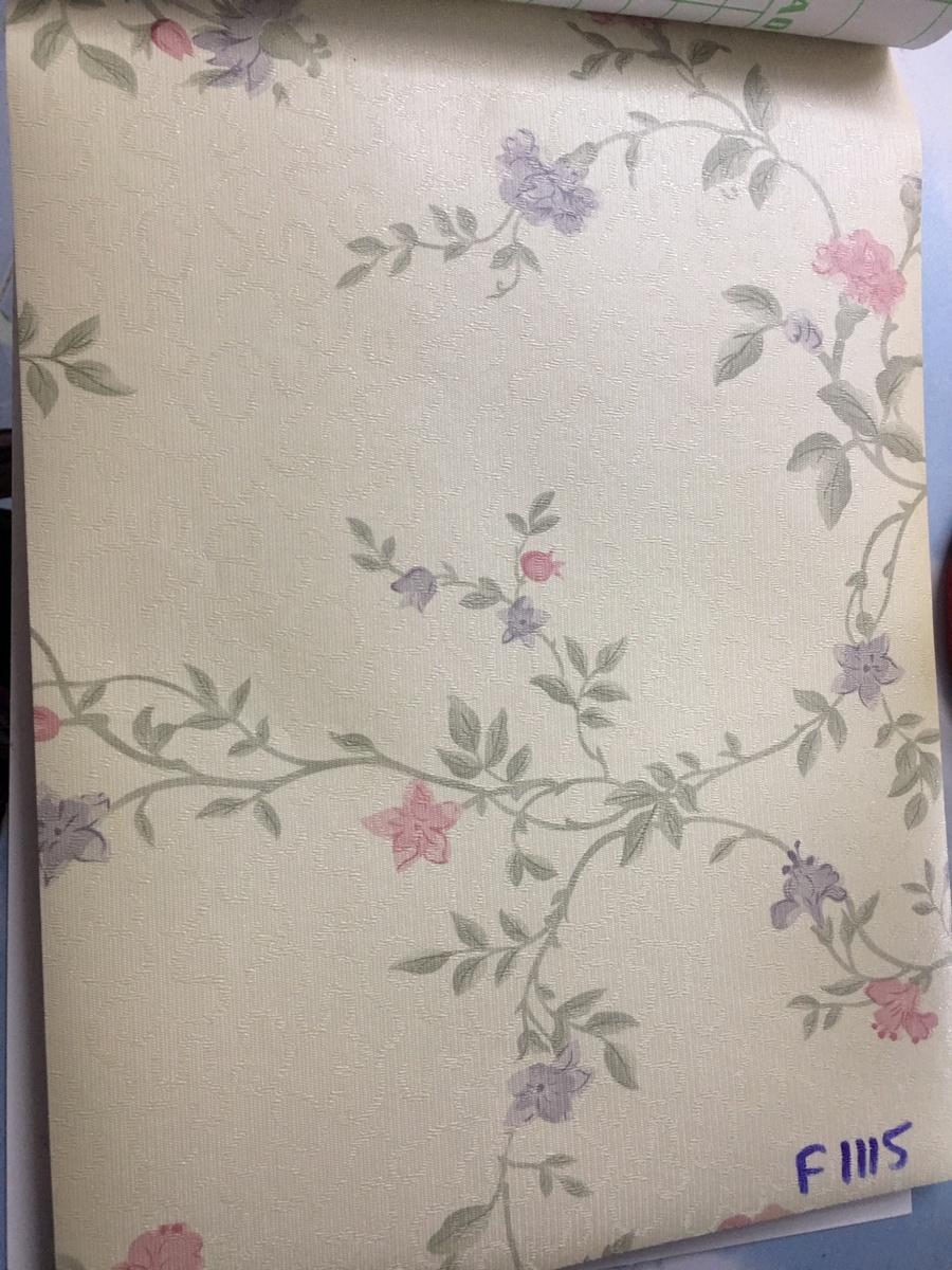 Giấy decal cuộn hoa cẩm chướng khổ 1m2