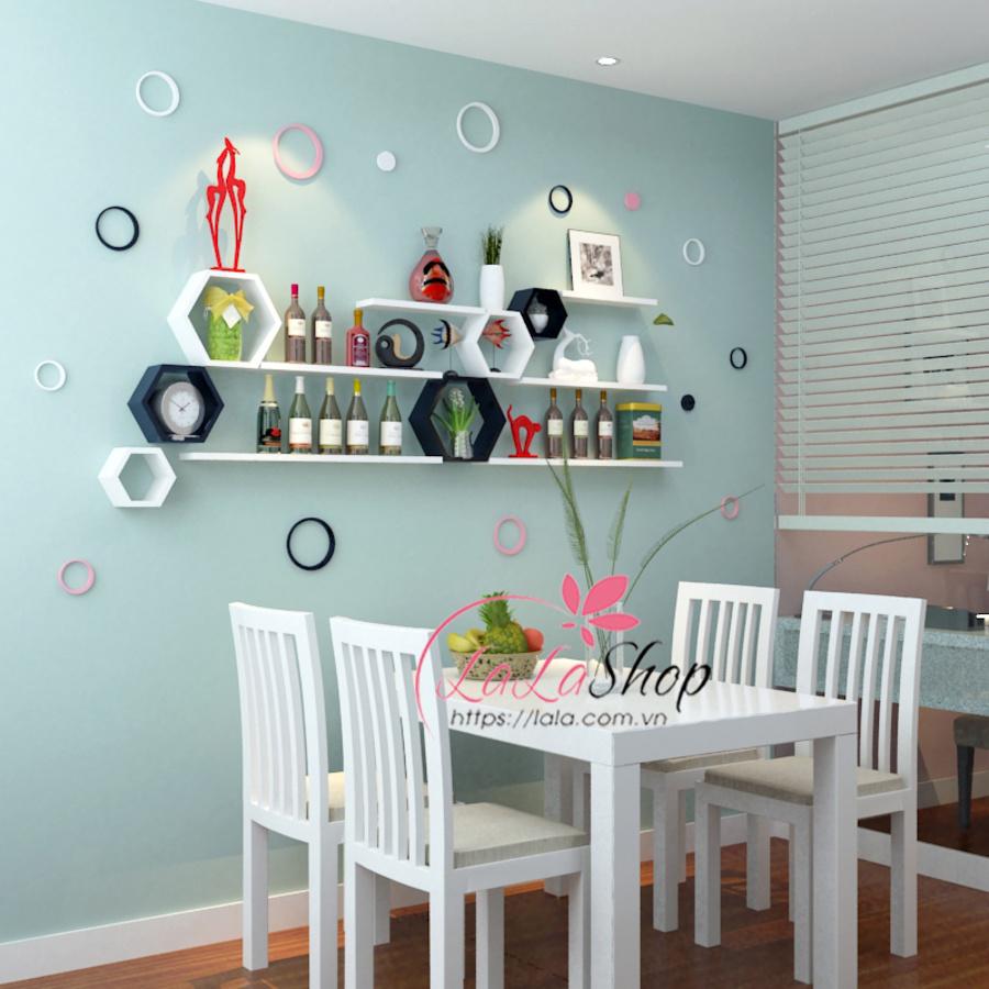 Kệ trang trí phòng ăn TTPA33