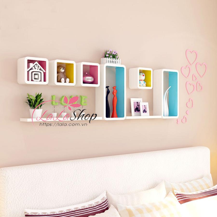 Kệ trang trí phòng ngủ TTPN24