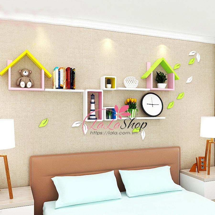 Kệ trang trí phòng ngủ TTPN18