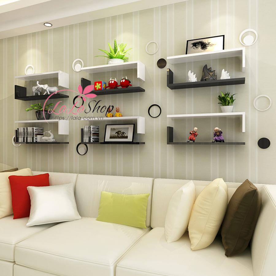 Kệ trang trí phòng khách TTPK09