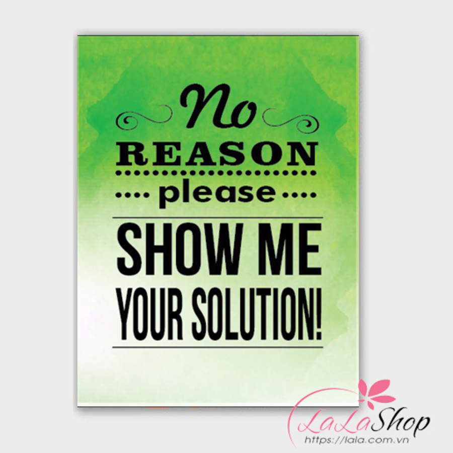 Tranh văn phòng no reason please show me your solution