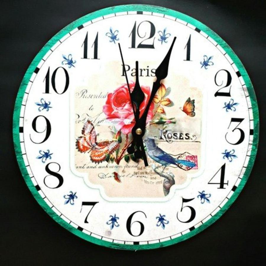 Đồng hồ vintage roses Paris