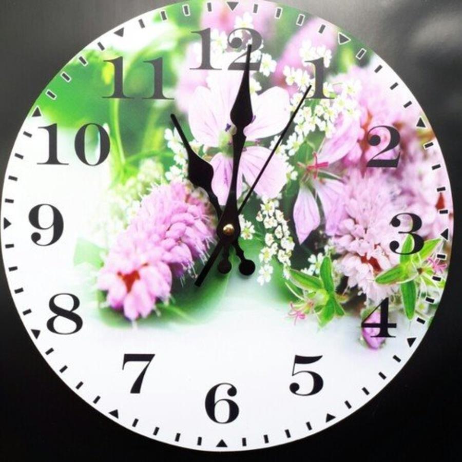 Đồng hồ vintage chùm hoa tím