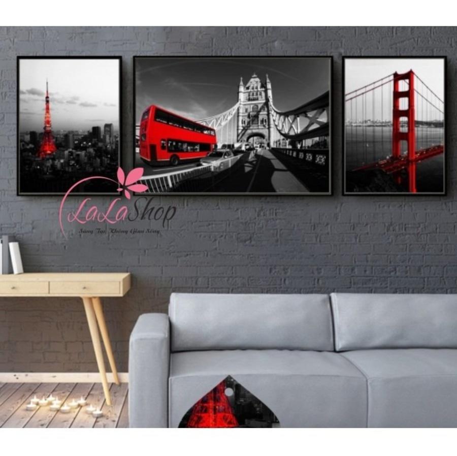Bộ khung ảnh cây cầu nghệ thuật