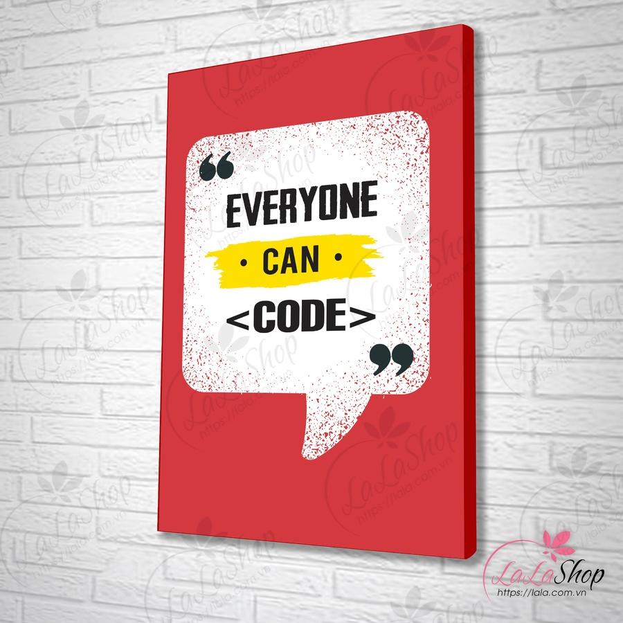 Tranh văn phòng everyone can code