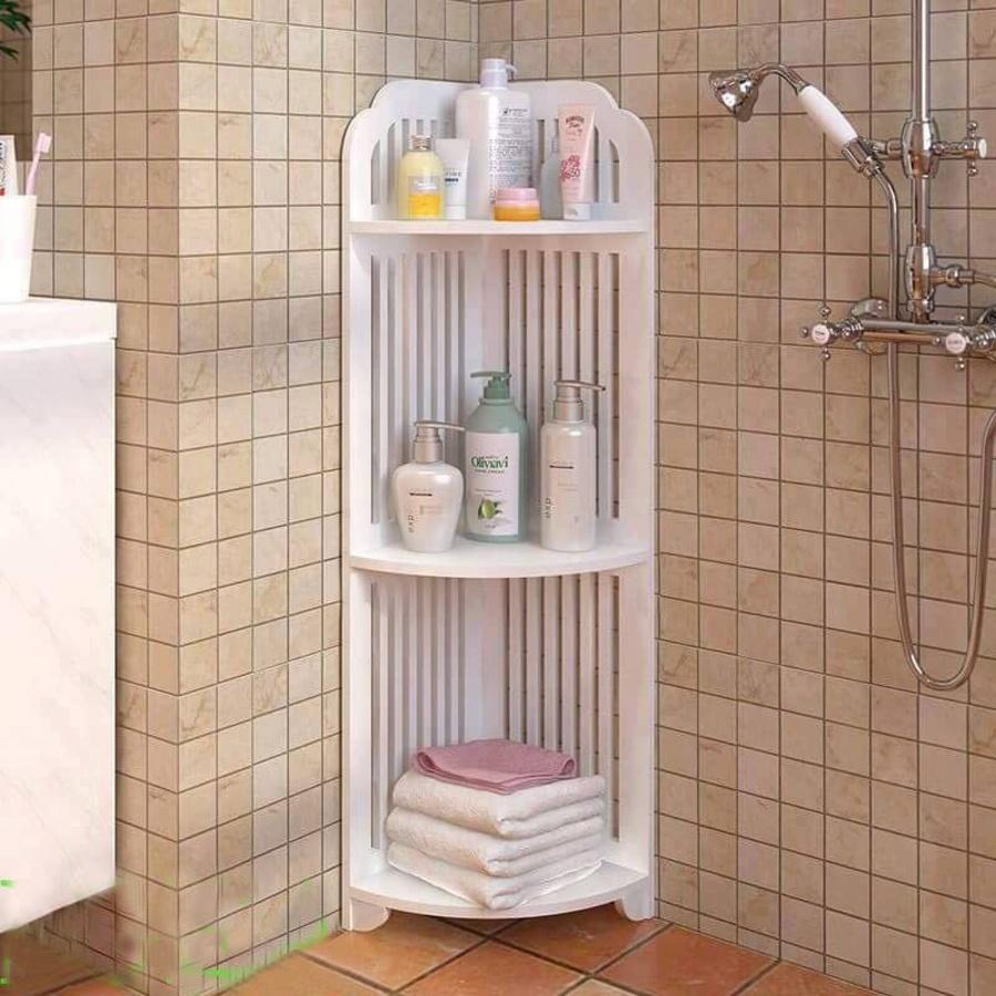 kệ trang trí phòng tắm