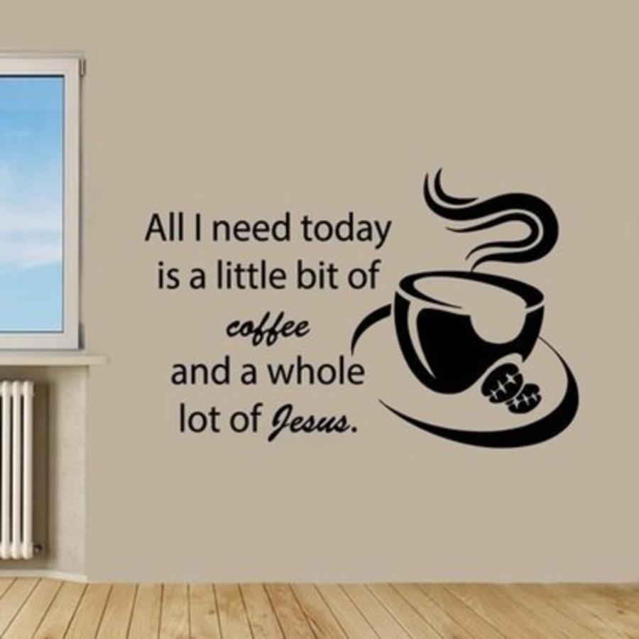 Decal dán tường Coffee 14