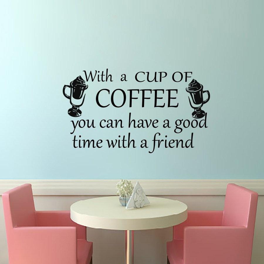 Decal dán tường Coffee 15
