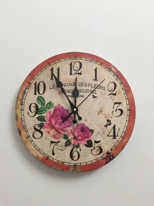 Đồng hồ vintage hoa hồng 2