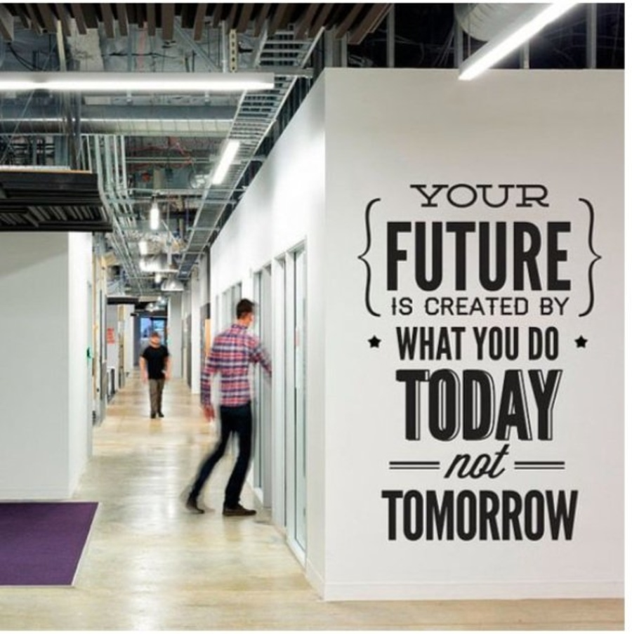 Decal văn phòng your future